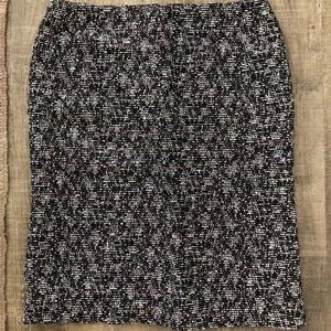 Designer Piazza Sempione tweed skirt